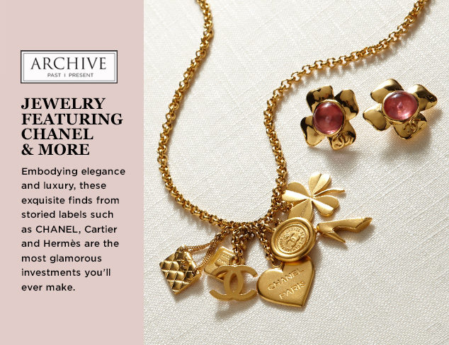 ARCHIVE Jewelry ft. CHANEL & More at MYHABIT