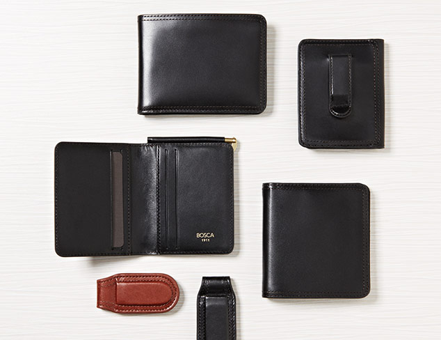 Bosca Leather Goods at MYHABIT