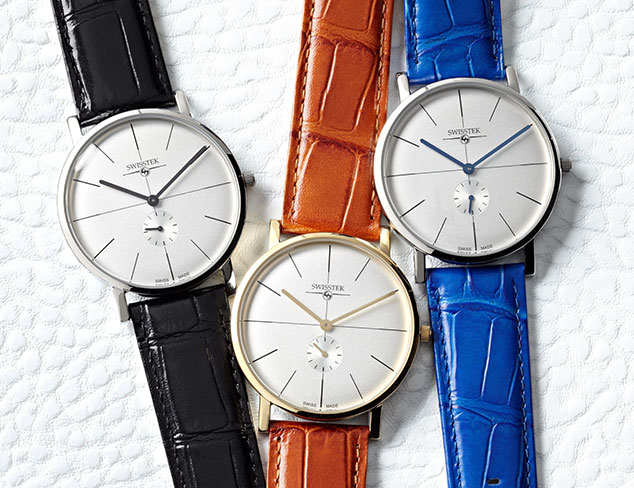 Buyers' Picks Swiss Watches at MYHABIT