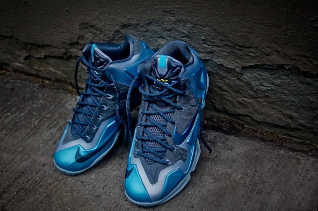 Nike Lebron XI - Gamma Blue