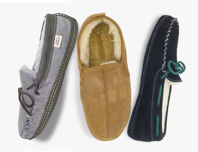 Soft & Cozy Slippers at MYHABIT