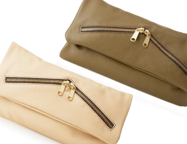 Trend Zipper-Embellished Handbags at MYHABIT
