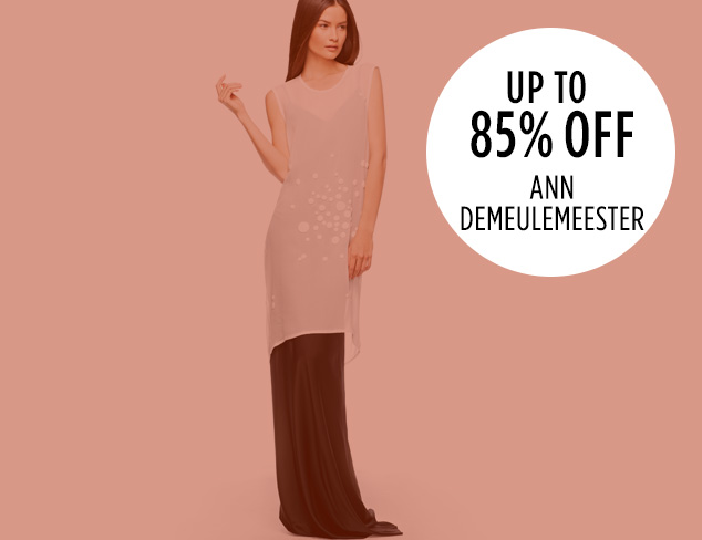 Up to 85 Off Ann Demeulemeester at MYHABIT