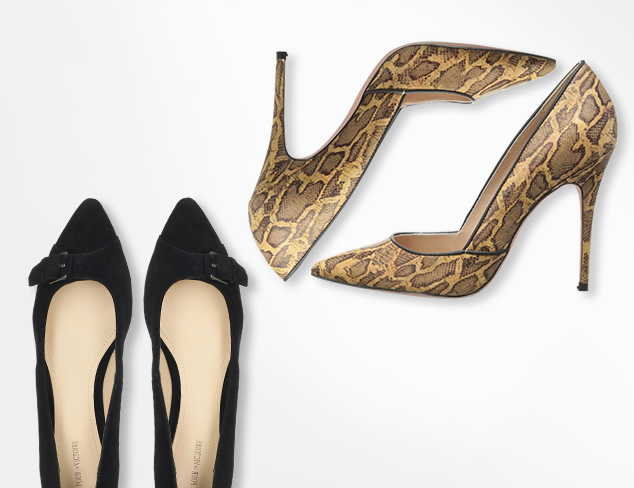The Pointed Toe Flats & Pumps at MYHABIT