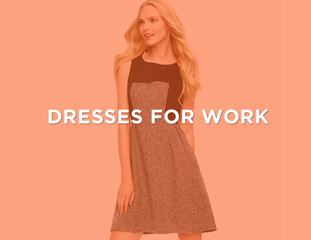 Up to 90 Off Dresses for Work at MYHABIT