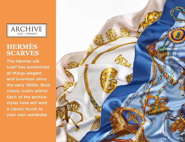 ARCHIVE Hermès Scarves at MYHABIT