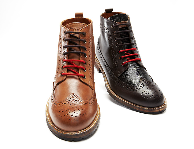 Ben Sherman Men's Crawford Brogue Boot