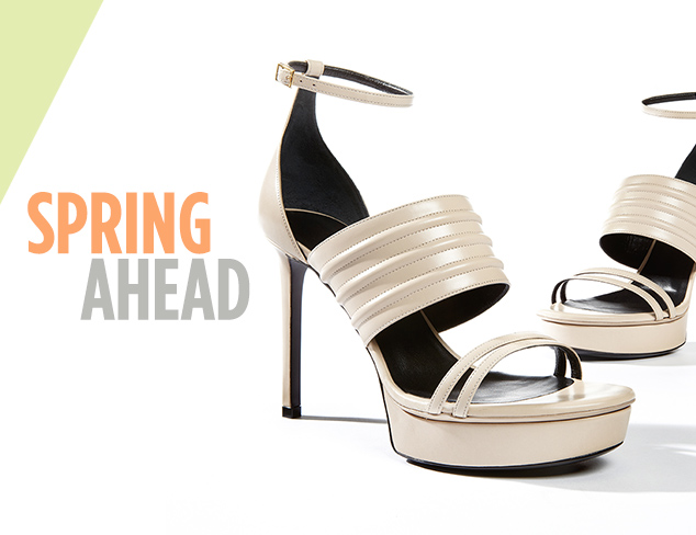 Spring Ahead Designer Shoes at MYHABIT