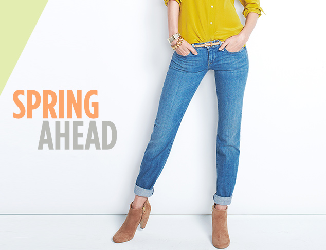 Spring Ahead Light-Colored Denim at MYHABIT