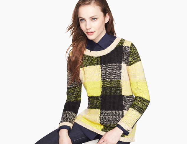 Cool Contrast Colorblock Tops & More at MYHABIT