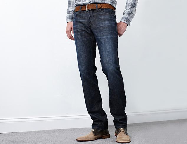Essentials Dark Wash Jeans at MYHABIT