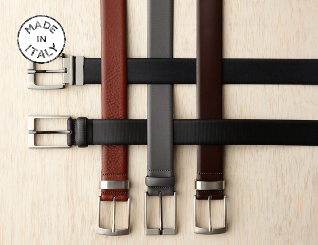 Made in Italy J.Campbell Dress Belts at MYHABIT