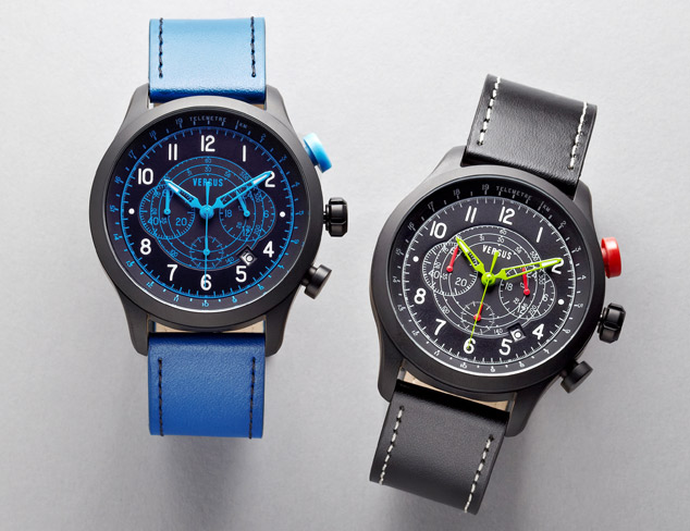 Watches feat. Versus by Versace at MYHABIT