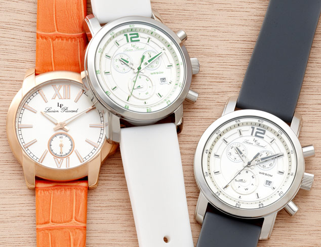 Classic Watches Lucien Piccard & More at MYHABIT