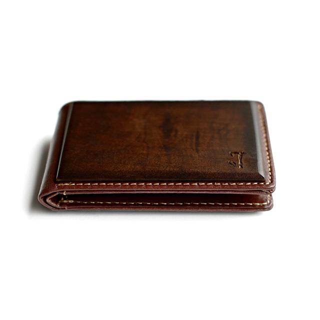 Slim Timber Walnut Wood Bifold Wallet_2