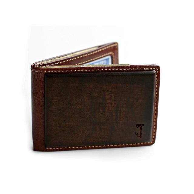 Slim Timber Walnut Wood Bifold Wallet_3