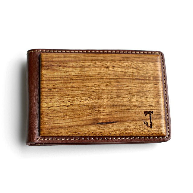 Slim Timber Zebrawood Bifold Wallet_1
