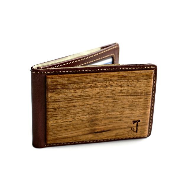 Slim Timber Zebrawood Bifold Wallet_3