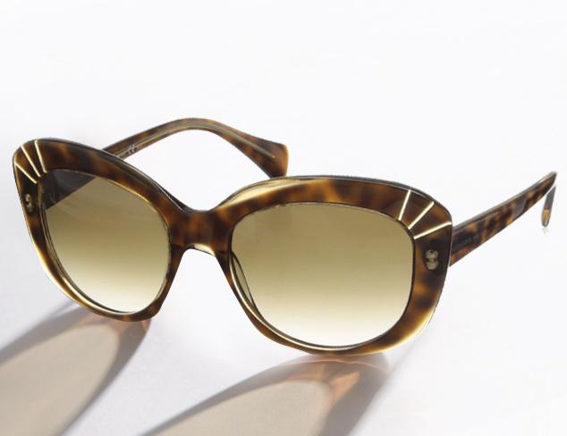 Sunglasses feat. Alexander McQueen at MYHABIT