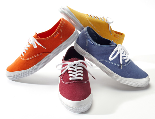 The Canvas Sneaker at MYHABIT
