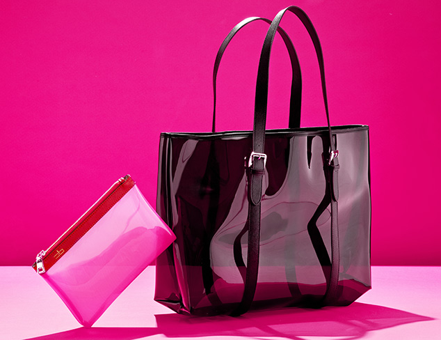COURAGE. b Moorea Clear Tote