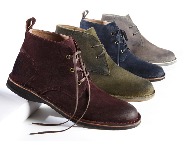 Easily Suede Sneakers, Boots & More at MYHABIT