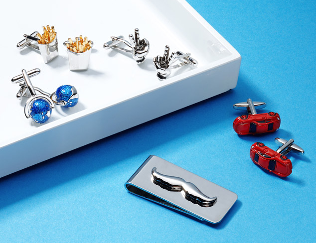 Finishing Touches Cufflinks & More at MYHABIT