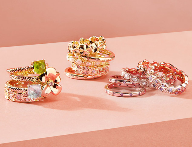 Jewelry Trend Stacked Rings at MYHABIT