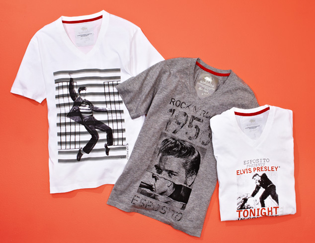 Elvis T-Shirts from Esposito Collection at MYHABIT