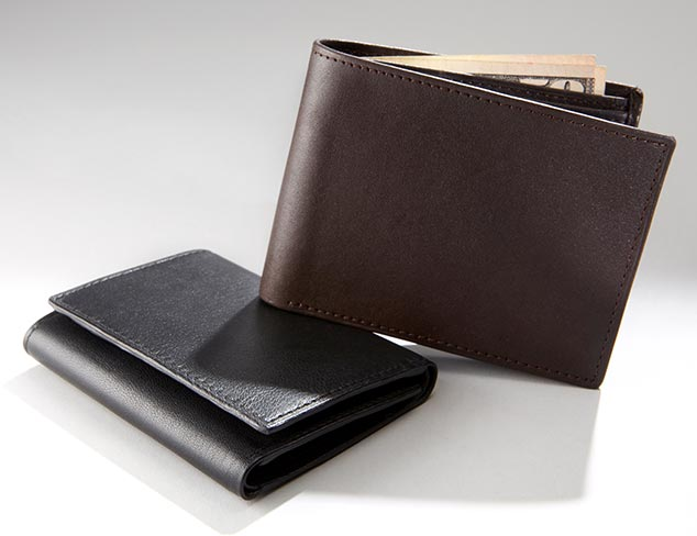 Leather Wallets & Card Cases at MYHABIT