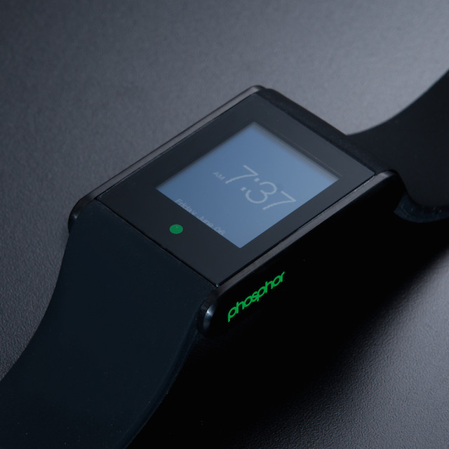 Phosphor Touch Time in PVD Black