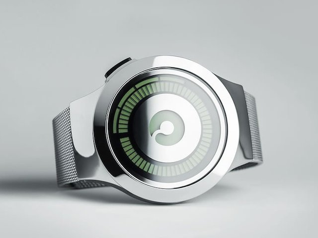 ZIIIRO Saturn Silver Digital Watch_2