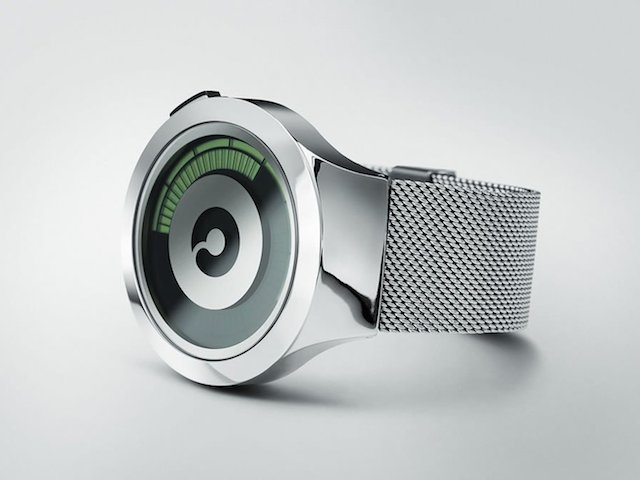 ZIIIRO Saturn Silver Digital Watch_3