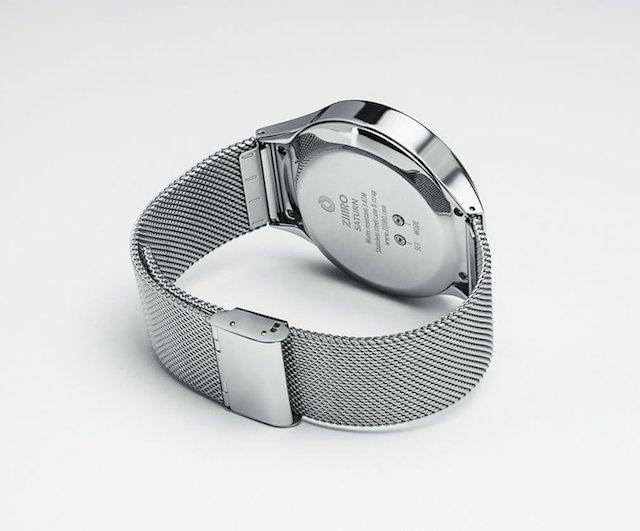 ZIIIRO Saturn Silver Digital Watch_4