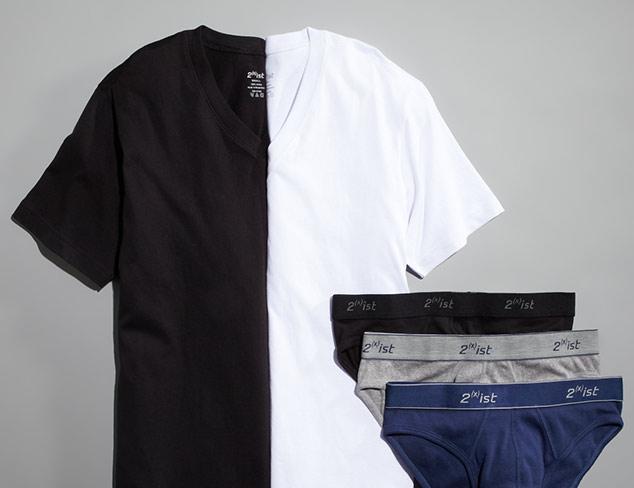 2(x)ist Socks, Briefs, T-Shirts & More at MYHABIT