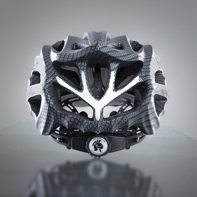 Dux Helm Premium Retractable Lens Cycling Helmet in Carbon Sliver_7
