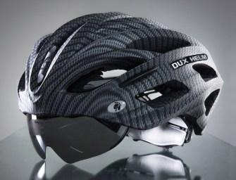 DUX HELM Premium Retractable Lens Cycling Helmet