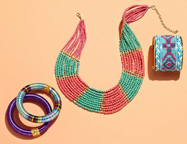 Exotic Glamour: Jewelry at MYHABIT