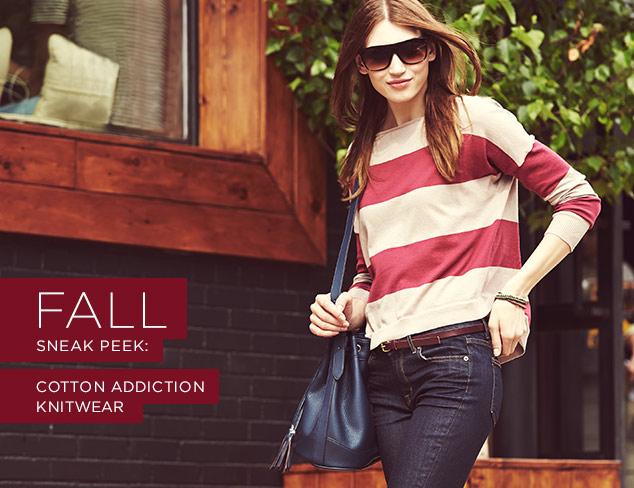 Fall Sneak Peek: Cotton Addiction Knitwear at MYHABIT