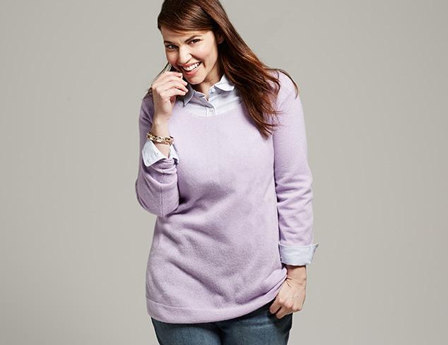 Plus Size: Kier & J Knitwear at MYHABIT