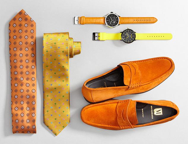 Pop of Color: Orange & Yellow at MYHABIT