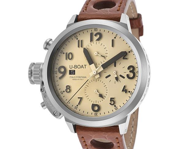 U-Boat 7117 Flightdeck Cream Dial Automatic Watch