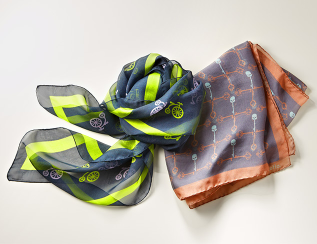 Work It Luxe Scarves at MYHABIT