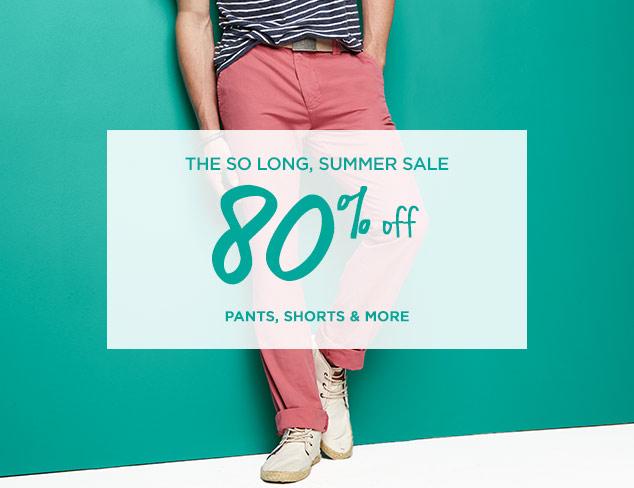 80% Off: Pants, Shorts & More at MYHABIT