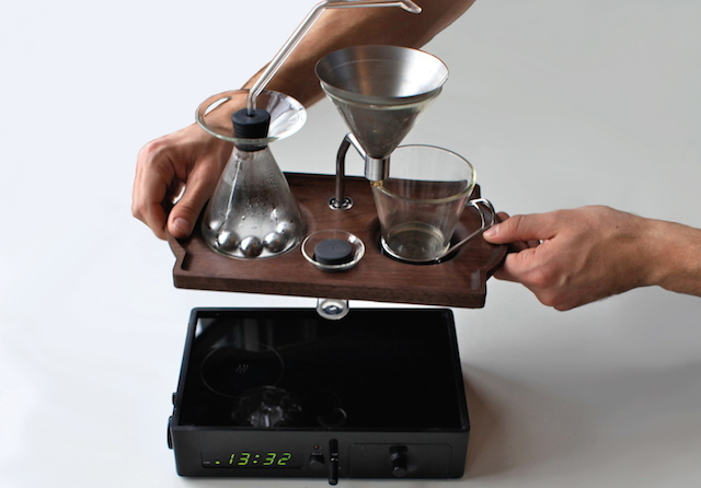 Barisieur: Alarm Clock and Coffee Brewer