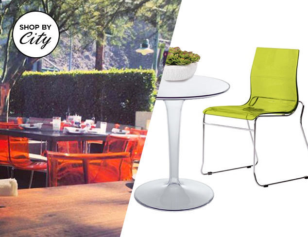 Cheeky's Palm Springs: Alfresco Dining Essentials at MYHABIT