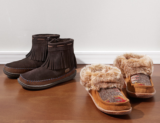 Cozy Slippers feat. Woolrich at MYHABIT