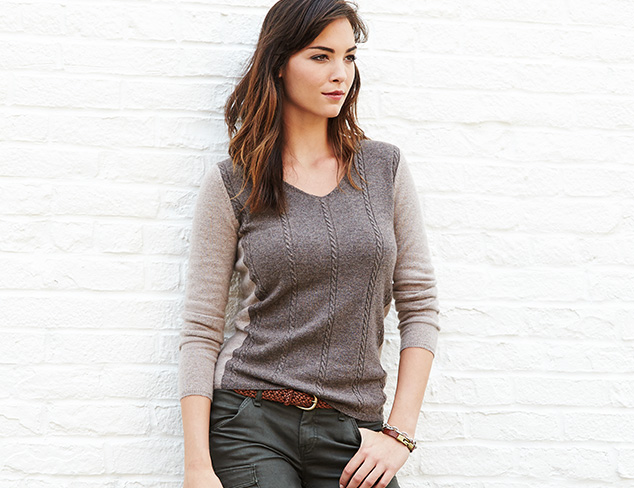 Fall Preview: Cashmere Sweaters at MYHABIT