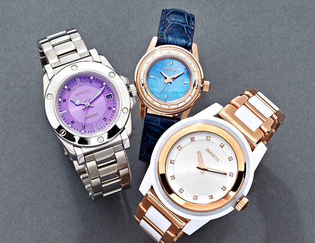 Ladylike Watches feat. Breil at MYHABIT