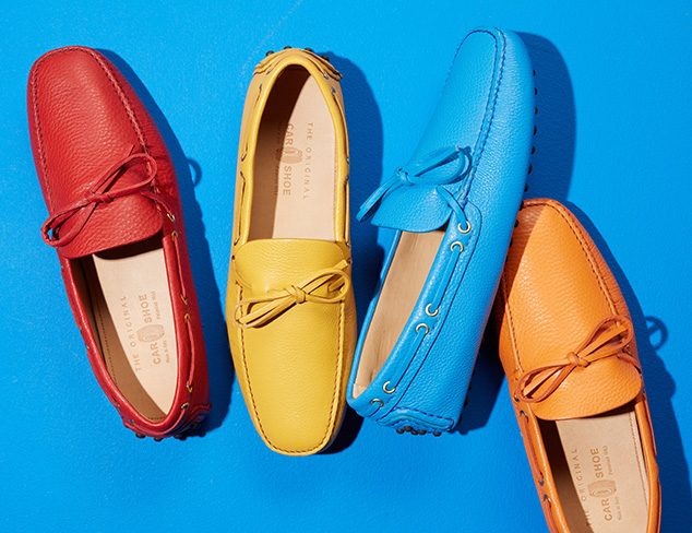Leisurely Style: Driving Loafers at MYHABIT